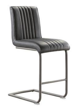 Barkruk Caloverde (62 zithoogte) vintage soft dark grey