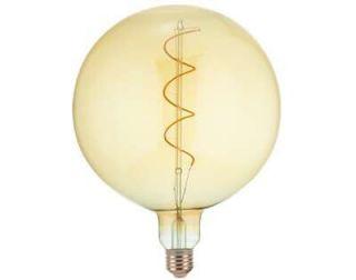 Ledlamp Luce Ø 20x27 cm amber