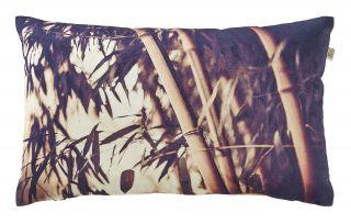 kussen bamboo 30x50 cm zand