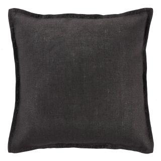kussen linnen 45x45 zwart