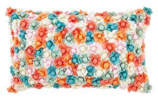 kussen maelstrom 30x50 cm koraal