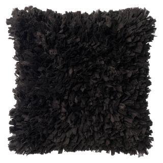 kussen romano 45x45 zwart