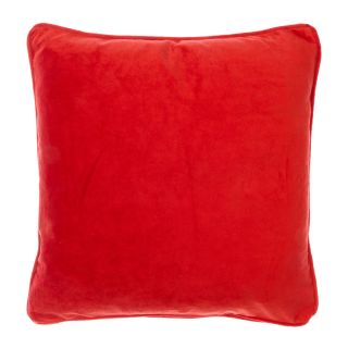 kussen velvet 45x45 rood