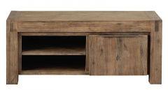 TV-meubel Salzburg (120 breedte) acaciahout grey wash