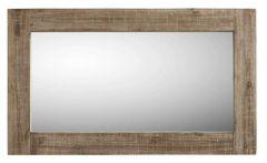 Spiegel Bassano 98x58 rough warm grey