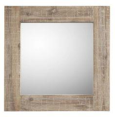 Spiegel Bassano 58x58 light grey