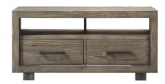 TV-meubel Alesio (120 breedte) pine antiek grey Op=op