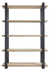 Boekenkast Verato (150 breedte) naturel grey