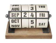 Houten kalender Nimar