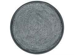 Plate Fioranti metal zwart