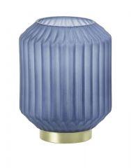 Ledlamp Cilantreo glas mat blauw